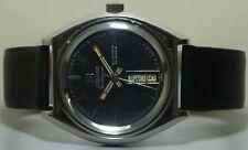 VINTAGE ATLANTIC worldmaster Automatico Day Date Orologio da polso R969 vecchio antico