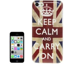Style HardCase für Apple iPhone 5C England Flagge Keep calm Hülle Schutzcase