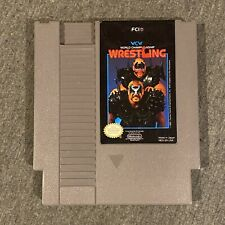 WCW World Championship Wrestling (Nintendo, 1990) NES [Cart Only]