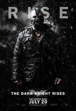 THE DARK KNIGHT RISES Poster Movie (BANE) BATMAN (27x40) Tom Hardy