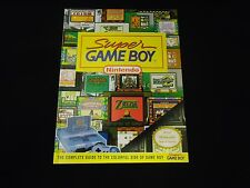 Super Game Boy SNES Adapter Converter Strategy OFFICIAL Player's Guide Book