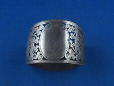 Serviettenring London Durchbruch sehr fein gearbeitet 925er Sterling Silber
