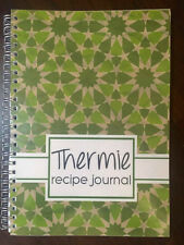 Thermie Recipe Journal - Suits Thermomix Recipes - cook book - thermo mix A5
