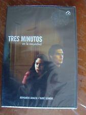 TRES MINUTOS EN LA OSCURIDAD taire scanda armando araiza DVD Region 1&4 Mexico