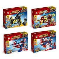 Heroes Assemble DIY Assemble Guns Avengers Hero Blocks Pistol Boy Toy Gift Up 23