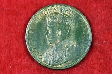 1917 - Canada One Cent King George V Coin!!  #H10512