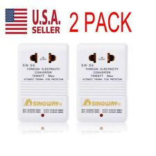 2pack 110V to 220V Step-Up & Down Voltage Converter 70W Watt Transformer Travel