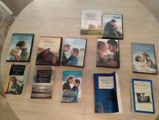Bundle of 6 Nicholas Sparks books with movie collection