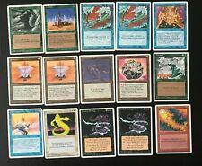 Lot 15 cartes Magic MTG 4th ed