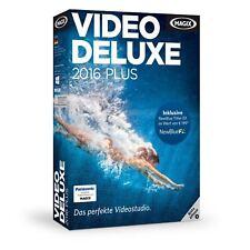 Magix Vídeo DELUXE 2016 Plus PC NUEVO + emb.orig