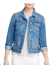 PAIGE  Rowan Denim Jacket in Stark Size Medium