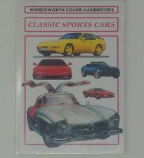Classic Sports Cars Wordsworth Color Handbooks New