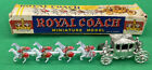 Quality Benbros Royal Coach 1950's 50's Vintage Toy Boxed Miniature Model