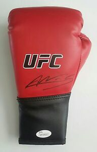 Amanda Nunes Autographed Signed UFC MMA Boxing Glove JSA