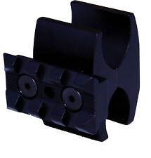 Shotgun magazine tube clamp & 3 slot light rail for Reminton 870, 1100