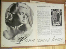 Lana Turner, Great Vintage Clipping