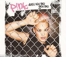 PINK - Don't Let Me Get Me (UK 1 Track DJ CD Single)