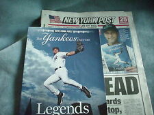 NY Post Ten Issue Collection Yankees Jeter Mantle Ruth 100th Anniv 1903-2003