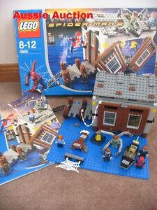 LEGO 4856 - Spiderman Doc Ock's Hide-Out [VERY RARE]