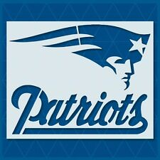 New England Patriots - 14x11 - 11x8.5 - 7x5.5 - 6x4 - Reusable Template