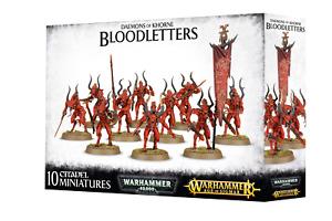 Daemons of Khorne Bloodletters - Age of Sigmar