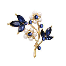 Pearl Brooch Clothing Accessories G Fashion Beauty Flower Brooch Alloy Plating