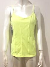 LORNA JANE Charlie Excel Tank SIZE L Neon Lemon Sorbet $62.99 NEW WITH TAGS