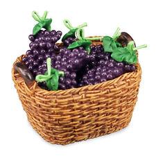 REUTTER PORZELLAN traubenkorb / basket de Fresh Grapes Maison poupée 1:12