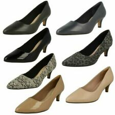 Womens Clarks Pointed Toe Court Shoes - Linvale Jerica