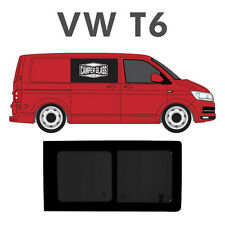 VW T5 T6 Transporter Driver Side TINTED SLIDING / OPENING Window / Glass #EUR