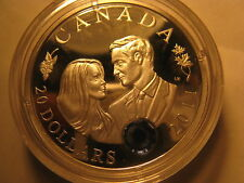CANADA 2011 $20 SILVER COIN ROYAL WEDDING PRINCE WILLIAM & CATHERINE MIDDLETON
