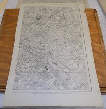 1912 Collier's City Map////PARIS, FRANCE (Eastern Half)