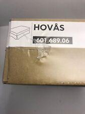 IKEA HOVAS Footstool Slipcover Ottoman Cover Graddo Brown Corduroy 601.689.06