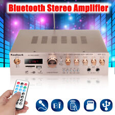Bluetooth 920W Power Amplifier Hi-Fi Stereo Audio 5 Channel 4 ohm Home Karaoke