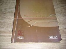 Für das NOKIA 7360 eine original Bedienungsanleitung Beschreibung