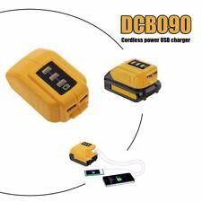 For Dewalt Battery Charger USB Adaptor 10.8v to 20v Slide Battery DCB184