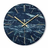 Nordic Marble Wall Clock Art Minimalist Modern Design Home Decoration Clocks New