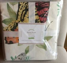 Pottery Barn FAUNA DUVET COVER KING-CAL KING NEW 108x92""