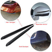Universal Car Carbon Fiber Anti-rub Strip Bumper Body Corner Protector Guard HOT