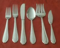 """FABERWARE STAINLESS FLATWARE """"KNOT"""" PICK 1 OR MORE"""