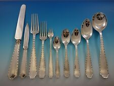 Marquise by Tiffany & Co. Sterling Silver Flatware Set 8 Service 80 pcs Dinner