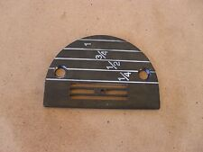 NEW THROAT PLATE FOR INDUSTRIAL STRAIGHT SEWERS FOR DOING FINE WORK P/N 147150LG