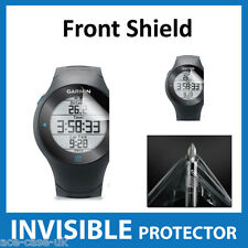 Garmin Forerunner 610 INVISIBLE FRONT Screen Protector Shield - Military Grade