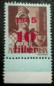 Hungary :1945 Overprinted 1945 and Surcharged 10/4 f. Rare & Collectible Stamp.