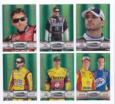 ^2011 Showcase GREEN PARALLEL #37 Jimmie Johnson BV$20! #16/25! VERY SCARCE!