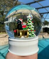 Christmas Snow Globe Frenchie French Bulldog Black Holiday Home Decor New Gift