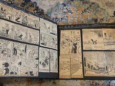Vintage Comic Strip Scrapbook Blondie Priscilla Pop