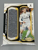 Gareth Bale 2019-20 Panini Chronicles Soccer Relic Fabric Of The Game Madrid