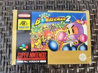 Super Bomberman 2 - Super Nintendo (SNES) + OVP - Sehr guter Zustand - Wie Neu