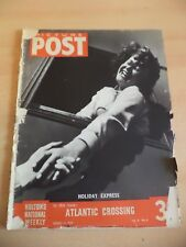 PICTURE POST OLD VINTAGE MAGAZINE 1930S HMS QUEEN MARY CALINESCU CONSCIENTIOUS